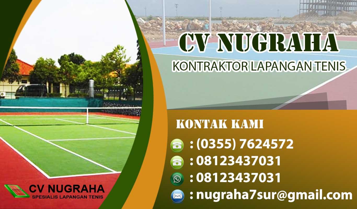 kontraktor lapangan tenis tulungagung