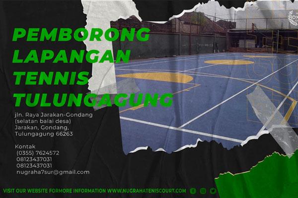 pemborong lapangan tenis tulungagung