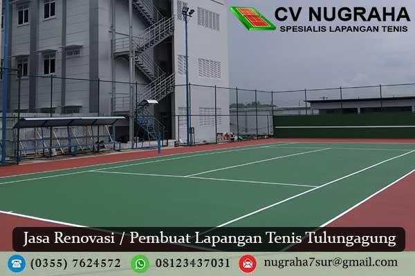 Jasa Renovasi / Pembuat Lapangan Tenis Tulungagung